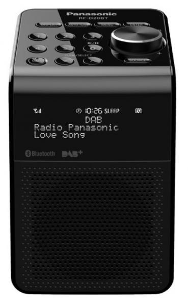 Panasonic Radio, RF-D20BTEG-K,