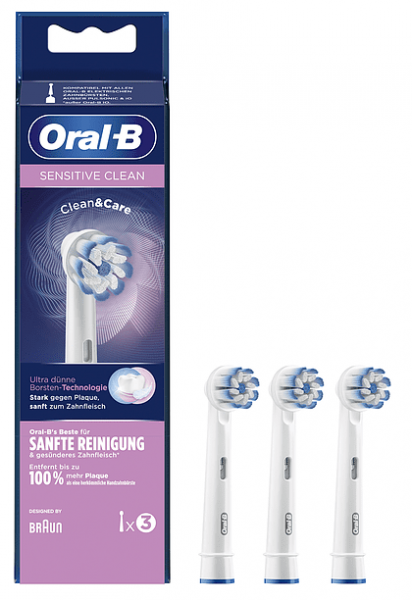 Oral-B Aufsteckbürsten Sensitive Clean 3er