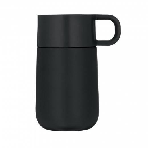 WMF Travel Mug Thermobecher matt schwarz , 690636610