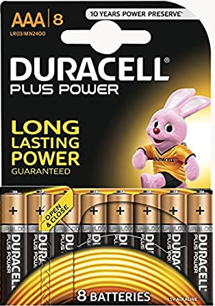 Duracell MN 2400 Plus Power Micro 8er Blister