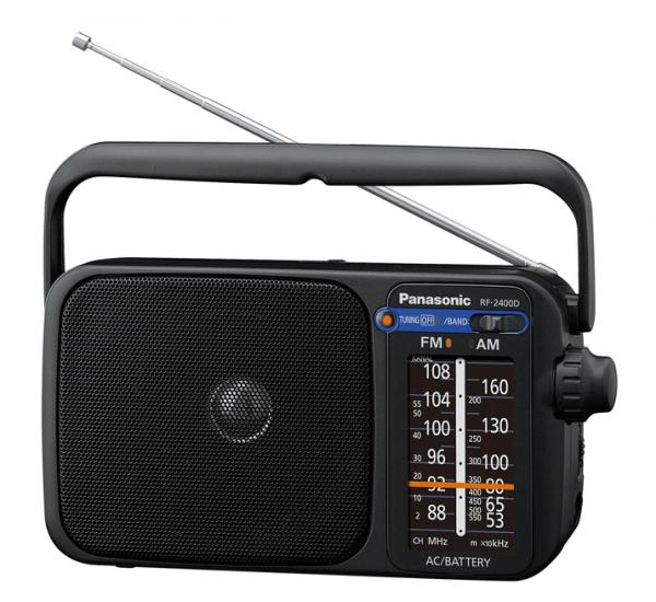 Panasonic RF-2400DEG-K SW TRAGBARES RADIO NETZ&amp,BATTERIE