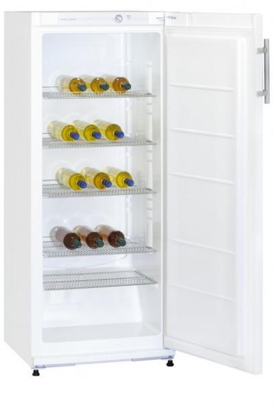 Exquisit KS C 29 A+ FL Flaschenkühlschrank, 145 x 60 cm, Getränke-Kühlschrank