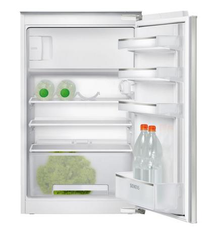 Siemens iQ100 KI18LV62 Einbau-Kühlschrank mit Gefrierfach, Flachscharnier-Technik, 88 x 56 cm