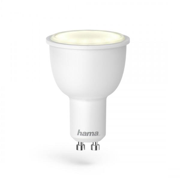 Hama WiFi-LED-Lampe, 00176548, GU10, 4,5W, RGB, dimmbar