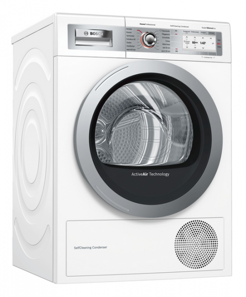 Bosch WTY887W6 HomeProfessional Wärmepumpen-Trockner 9kg