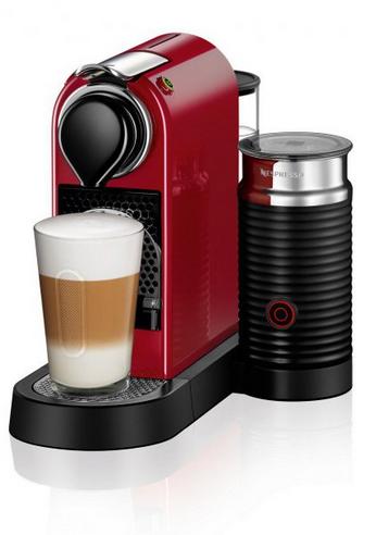 Turmix Nespresso TX275, Citiz&Milk Red Cherry Red