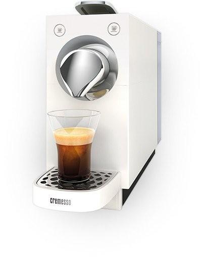 Cremesso Kaffeemaschine, Una Automatik, pure white