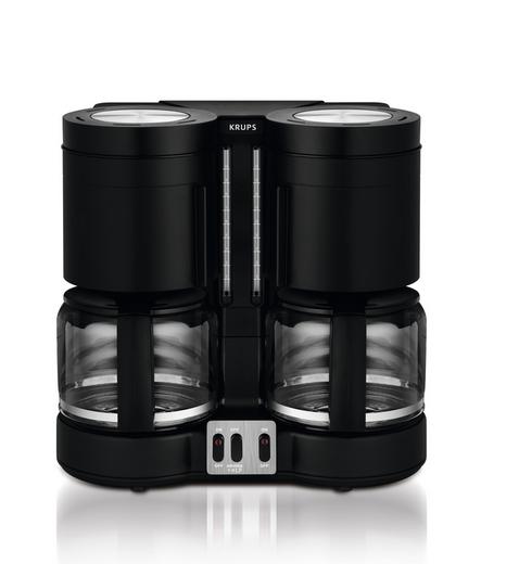 Krups KM8508 Doppel-Kaffeeautomat DuothekPlus, Kombiautomat Kafee/Tee