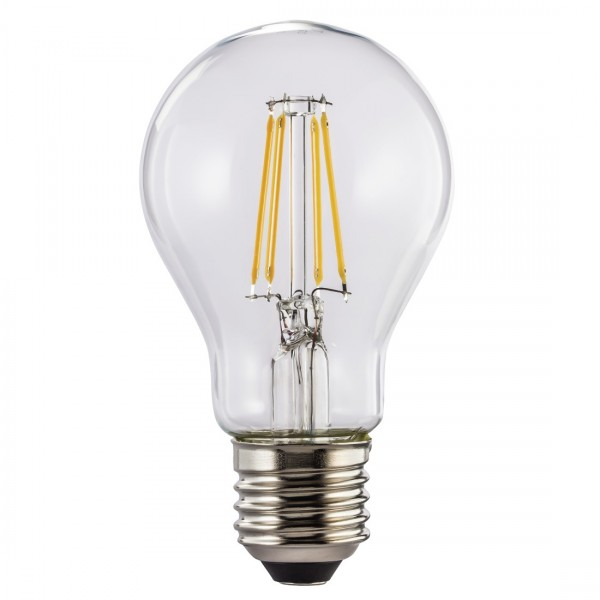 Hama LED-Filament, 112553, E27, 470lm - ersetzt 40W, Glühlampe, warmweiß