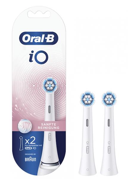 Oral-B Aufsteckbürsten iO Sanfte Reinigung 2er