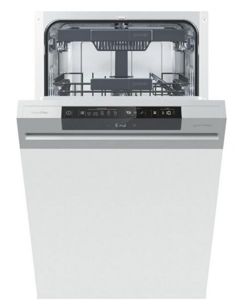 Gorenje Geschirrspüler GI561D10S Einbau Teilintegriert 45cm