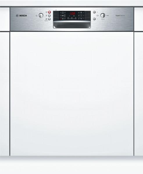 Bosch Serie 4 SMI46MS00E teilintegrierter Geschirrspüler, 60 cm, Edelstahl