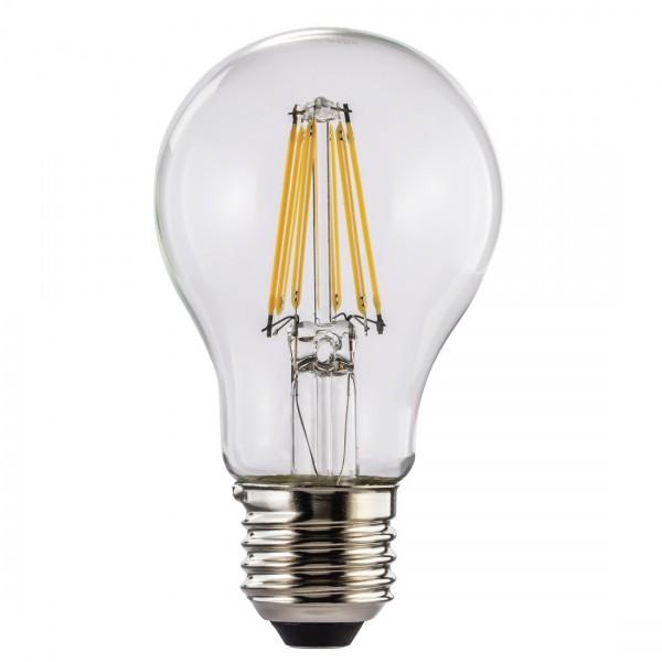 Hama LED-Filament, 112551, E27, 1055lm - ersetzt 75W, Glühlampe, warmweiß