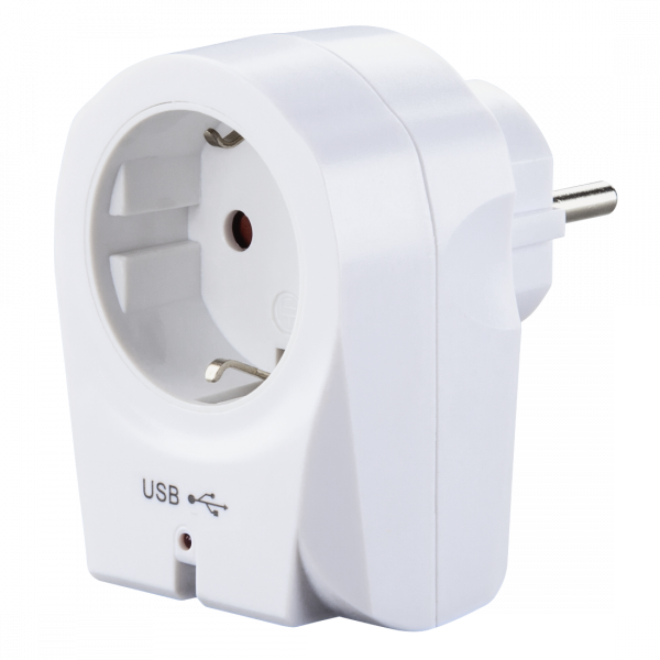 Hama USB-Steckdosenadapter 121965