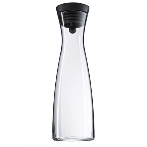WMF Water decanter 1.5 l black Basic 1.5l Glas Weinkaraffe
