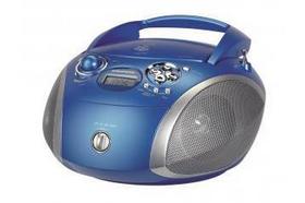 Grundig RCD 1445 USB Blau, Silber CD-Radio