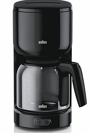 Braun Filterkaffeemaschine KF3120BK PurEase schwarz