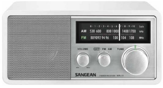 Sangean UKW MW Radio,ATR-01,weiss, AustriaEdition