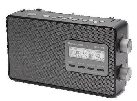 Panasonic RF-D10 Persönlich Digital Schwarz Radio