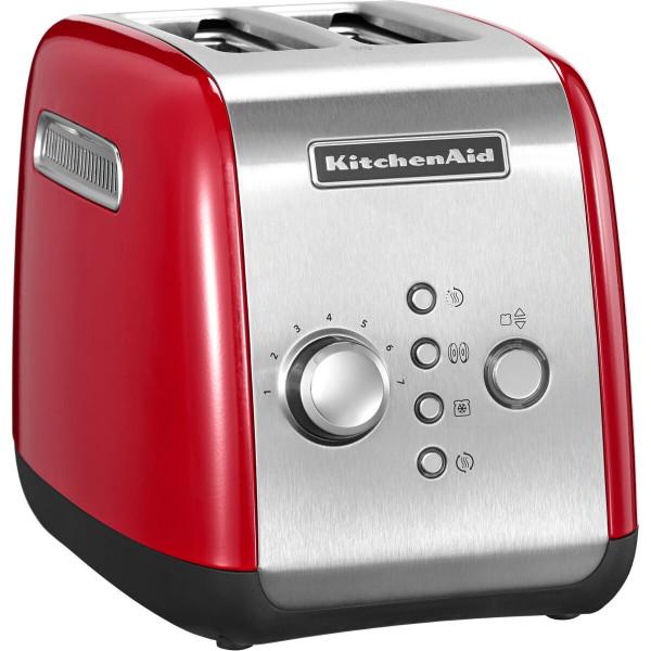 KitchenAid 5KMT221 2Scheibe(n) 1100W Rot Toaster