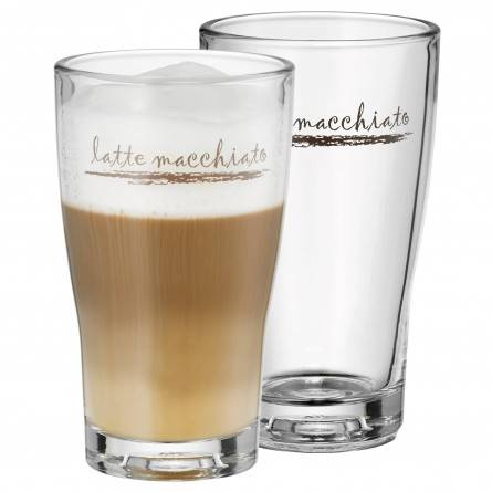 WMF Latte Macchiato Glas, 2er GP