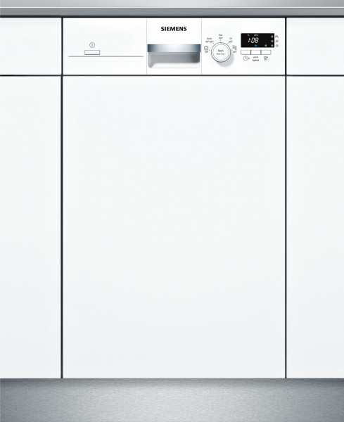 Siemens iQ100 SR515W03CE teilintegrierter Geschirrspüler, A+, 9 Stellen