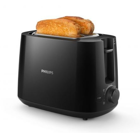 Philips Toaster HD2581 90 Daily Collection Schwarz