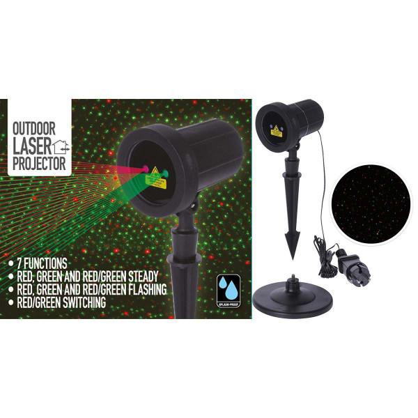 Nedis Laserprojektor AXY000600 färbig