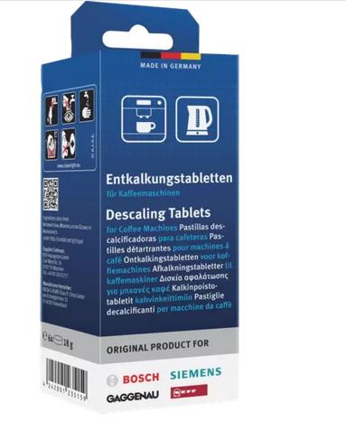 Bosch Entkalkungstabletten, 311864, für Kaffeeautomaten -Siemens