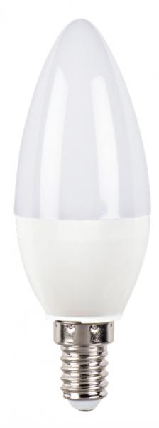 Hama LED-Lampe, 00112653, E14, 470lm ersetzt 40W, Kerzenlampe, Tageslicht