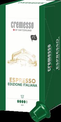 Cremesso ESPRESSO ITALIANA KAFFEEKAPSELN 16STK