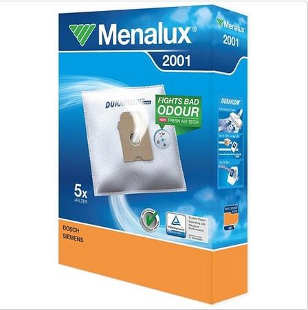 Menalux 2001 F.Bosch-Siemens 5 Stück Staubbeutel + 1 Stück Microfilter