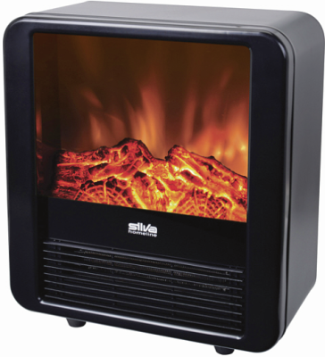 Silva FP-H 085, Elektro-Kamin, 900 1.800 Watt, Flammeneffekt,