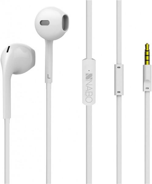 Nabo In-Ear Kopfhörer, Soundplug, Glacial White