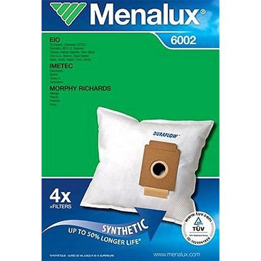 Menalux 6002 F.DIVERSE STAUBBEUTEL 4STK+1MOTO-+1MICRO