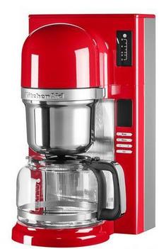 KitchenAid 5KCM0802EER Freistehend Filterkaffeemaschine 1.25l 8Tassen Rot Kaffeemaschine