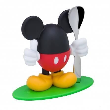WMF - Eierbecher mit Löffel Mickey Mouse