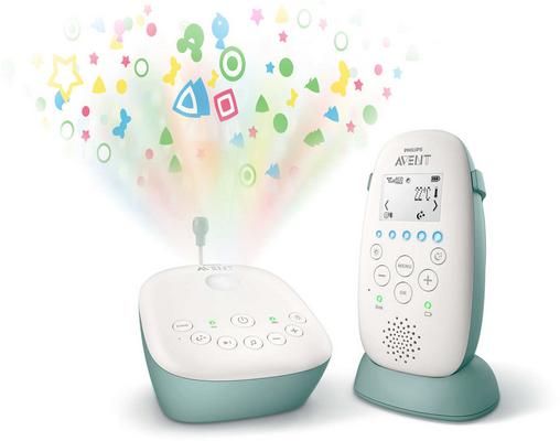 Philips Baby-Überwachungsset SCD731 26 Dect weiß grün