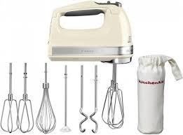 KitchenAid 5KHM9212 Handmixer Weiß