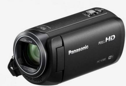 Panasonic HC-V380EG-K Full HD Digitale Videokamera