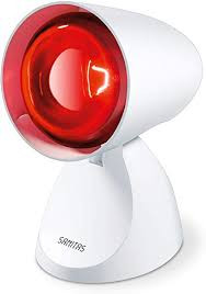 Sanitas SIL06 Infrarotlampe, 100 W, Bestrahlungslampe