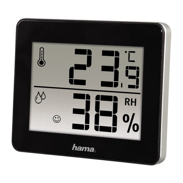 Hama Thermo-Hygrometer UN3091 TH-130sch,