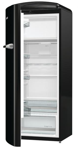 Gorenje ORB153BK-L Kühlschrank, freistehend, Türanschlag links, schwarz