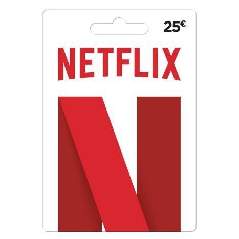 Netflix Gutschein 25 EURO
