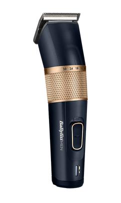 BaByliss Haarschneider E986E Blau Gold Carbon 45mm