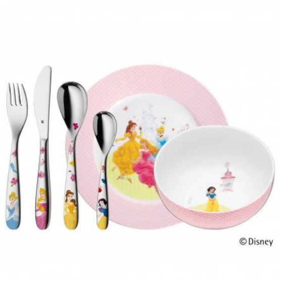 WMF Kinderbesteck Set 6 Disney PRINCESS