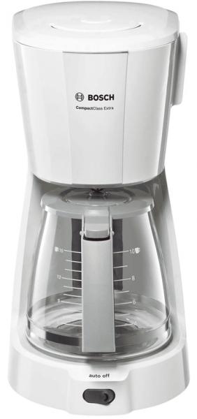 Bosch TKA3A031 Freistehend Filterkaffeemaschine 1.25l 10Tassen Grau, Weiß Kaffeemaschine