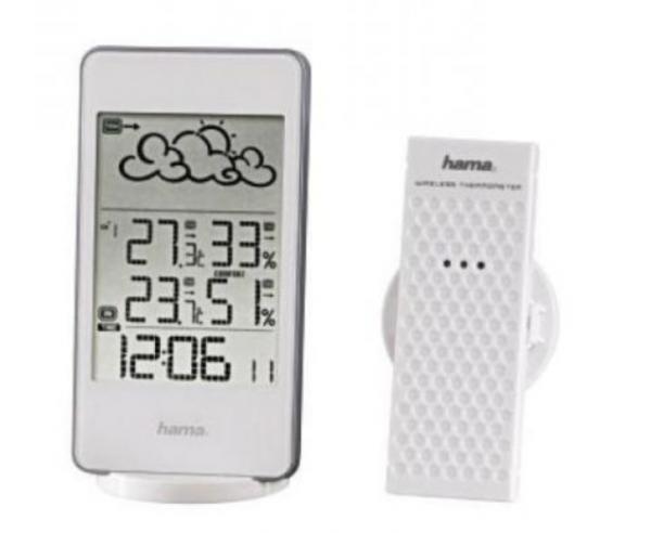 Hama 123125 WETTERSTATION EWS-860 Weiss Wetterstation