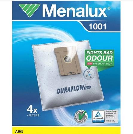 Menalux 1001 F.AEG STAUBBEUTEL 4STK+1MOTO-+1MICRO