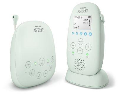 Philips Baby-Überwachungsset, SCD721 26, Dect weiss